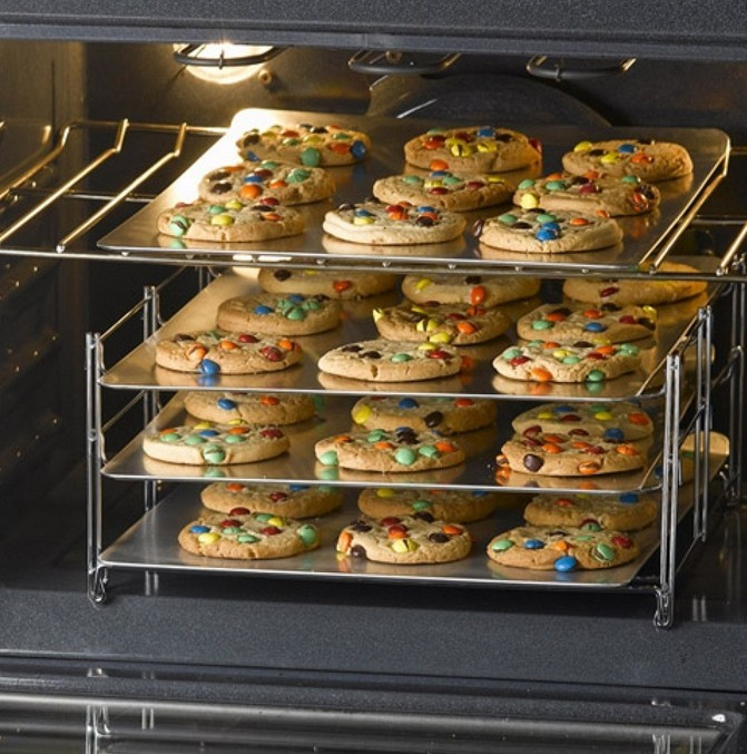 cookie sheet with rack